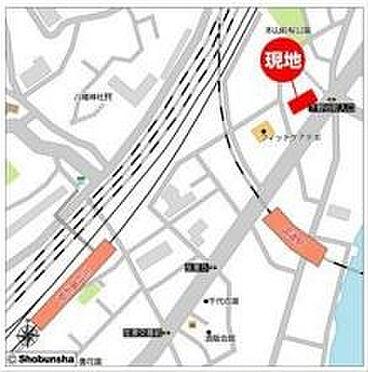 店舗事務所(建物一部)-横浜市鶴見区鶴見中央5丁目 地図