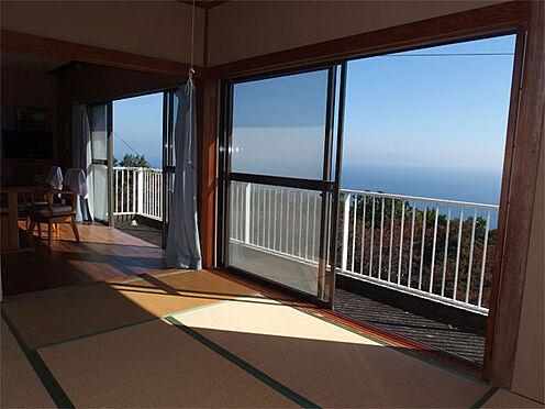 中古一戸建て-伊東市赤沢 【2階和室】 リビング・和室から見える景色です!