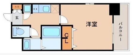 マンション(建物一部)-大阪市港区市岡3丁目 収納スペースも確保