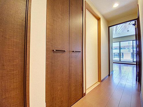 区分マンション-福岡市城南区別府4丁目 廊下収納も豊富です♪