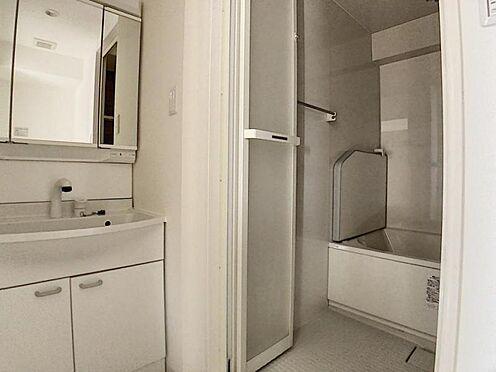 区分マンション-名古屋市南区豊田2丁目 ワイドな洗面