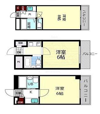 マンション(建物全部)-生駒市辻町 間取り