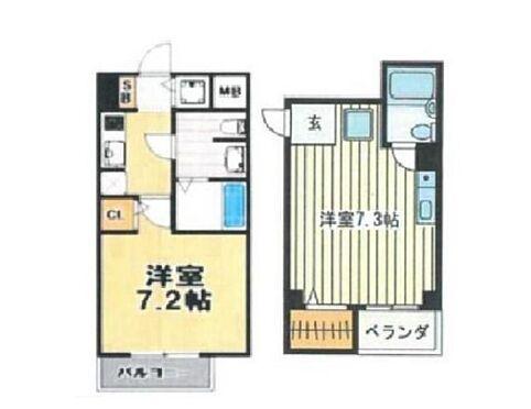 マンション(建物全部)-大阪市浪速区桜川3丁目 間取り