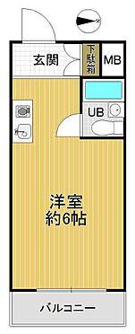 マンション(建物一部)-大阪市淀川区野中北1丁目 単身者向けのシンプルな間取り