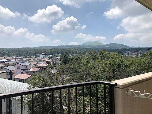 中古マンション-伊東市荻 【眺望】大室山を望みます。