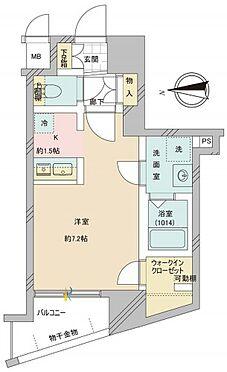 マンション(建物一部)-京都市下京区西七条比輪田町 間取り