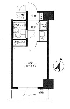 マンション(建物一部)-江東区永代2丁目 間取り