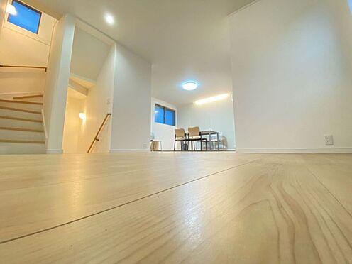 新築一戸建て-名古屋市北区大杉1丁目 開放感のあるLDKは広々約21帖!