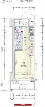 マンション(建物一部)-神戸市中央区浜辺通6丁目 間取り