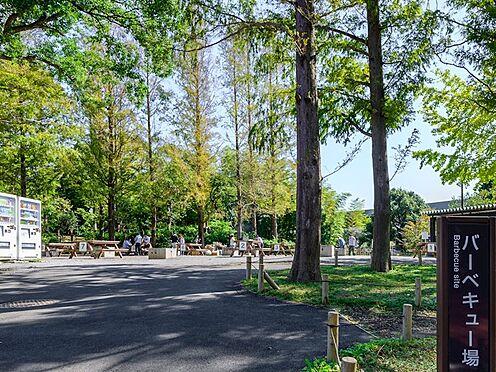 中古マンション-品川区勝島1丁目 バーベキューのできる公園もあります。しながわ区民公園_バーベキュー場