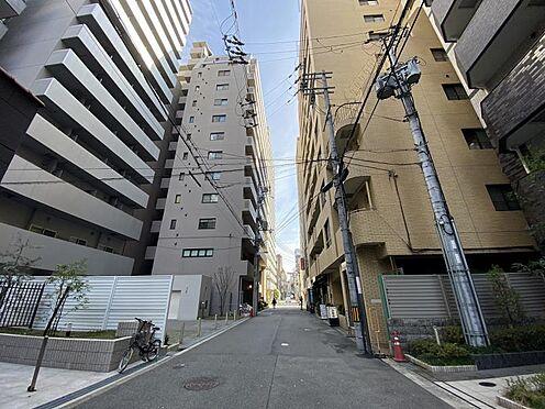 区分マンション-大阪市中央区東高麗橋 前面道路
