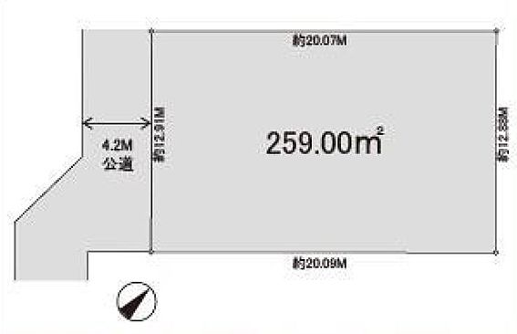 アパート-富士見市関沢1丁目 配置図