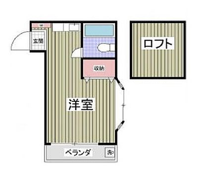 アパート-厚木市三田 間取り