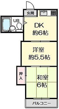 区分マンション-大阪市鶴見区放出東1丁目 間取り