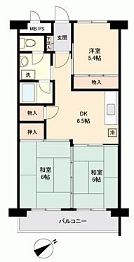 中古マンション-札幌市北区北36丁目 間取り