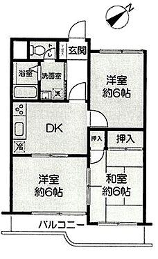 中古マンション-横浜市磯子区滝頭1丁目 間取り