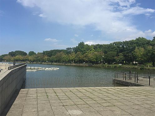 中古マンション-戸田市川岸3丁目 浮間公園内 池 広場(1855m)
