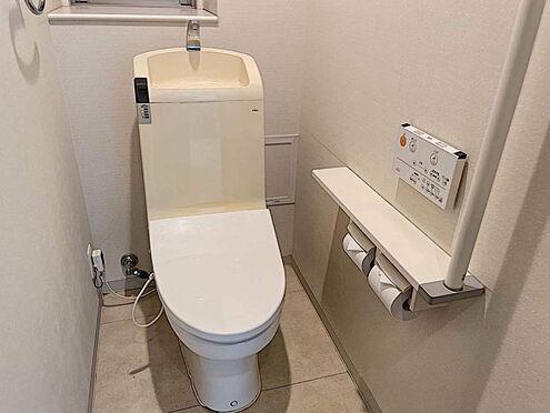 区分マンション-豊田市寿町3丁目 温水洗浄便座でトイレのあとも清潔に。