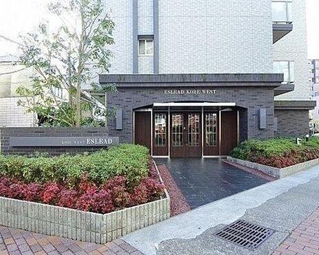マンション(建物一部)-神戸市兵庫区駅南通3丁目 緑が豊かなアプローチ