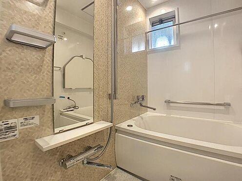 区分マンション-豊田市山之手7丁目 足元が水で不安定な浴室には手摺が付いて安心安全設計!