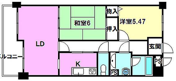 マンション(建物一部)-長野市三輪6丁目 間取り