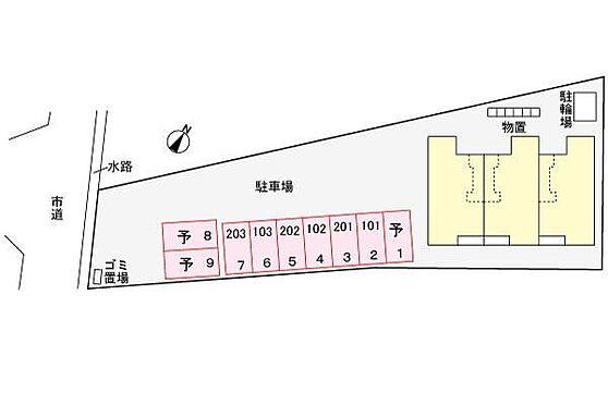 アパート-新発田市中曽根町3丁目 その他