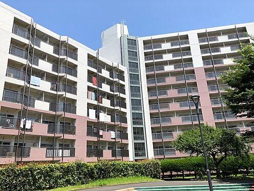 中古マンション-横浜市戸塚区深谷町 建物西側から撮影の外観