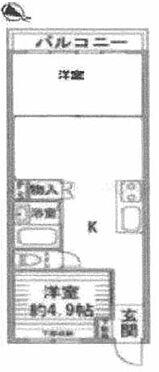 マンション(建物一部)-板橋区前野町2丁目 間取り