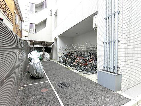 中古マンション-新宿区榎町 駐輪場バイク置場