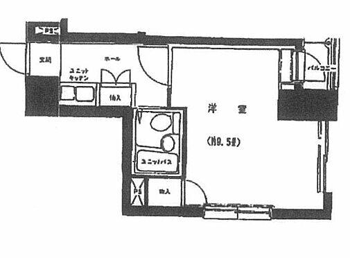 中古マンション-横浜市中区山田町 間取り