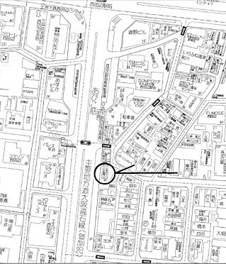 ビル(建物全部)-大阪市阿倍野区西田辺町1丁目 地図