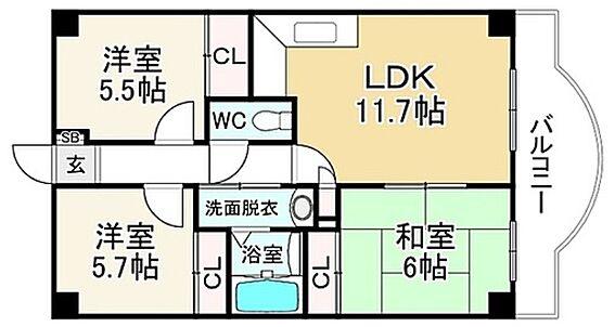 マンション(建物一部)-京都市北区大北山原谷乾町 ご家族でゆったり使える3LDK