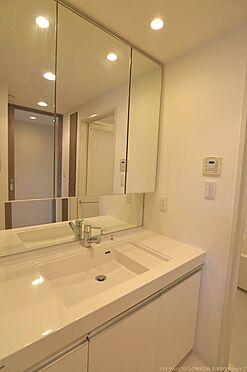 中古マンション-稲城市若葉台1丁目 ワイドタイプの独立洗面台