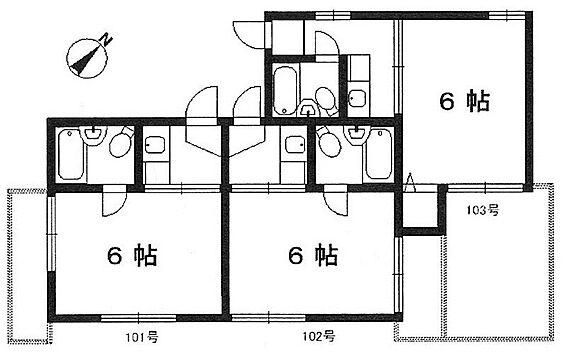 アパート-神戸市垂水区旭が丘1丁目 間取り