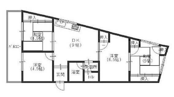 マンション(建物一部)-神戸市須磨区天神町4丁目 収納豊富な4DK