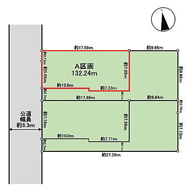 土地-武蔵野市吉祥寺南町3丁目 区画図