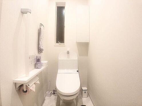中古一戸建て-みよし市潮見 トイレはお客様も利用することがあるのでお手入れのしやすいものを選んで、いつも清潔に保ちたいものです。