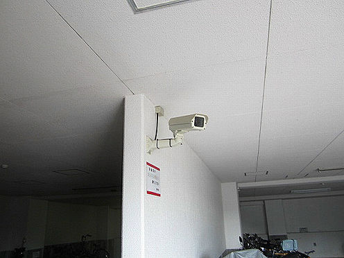 マンション(建物一部)-神戸市西区月が丘5丁目 防犯カメラあり