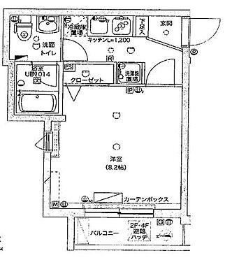 マンション(建物一部)-板橋区中台1丁目 間取り