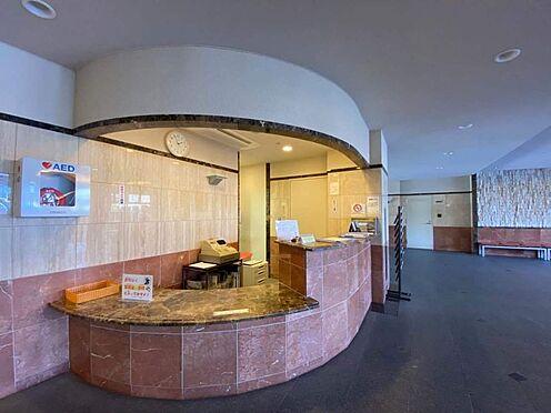 中古マンション-名古屋市緑区有松町大字桶狭間字生山 エントランスのコンシェルジュサービスです!