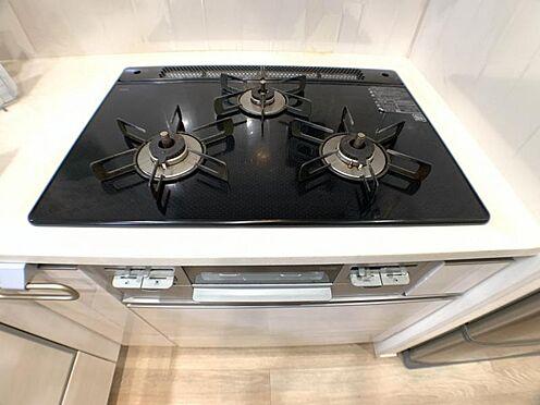 区分マンション-東海市高横須賀町御洲浜 人気のシステムキッチン!食器洗乾燥機、3口コンロ、グリル付き♪
