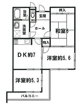 マンション(建物一部)-京都市中京区西ノ京勧学院町 開口が多く明るい室内