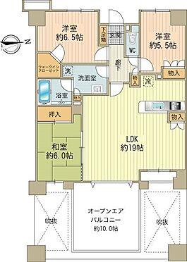 中古マンション-日野市旭が丘3丁目 価格3,780万円・3LDK、80.28m2