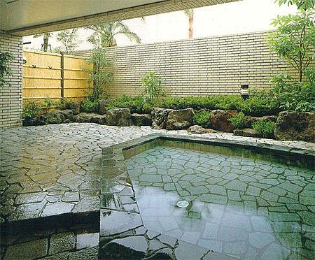 中古マンション-伊東市富戸 露天風呂 清潔かなる管理された、露天風呂です。