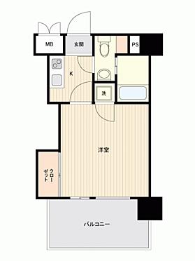 マンション(建物一部)-福岡市博多区美野島1丁目 間取り