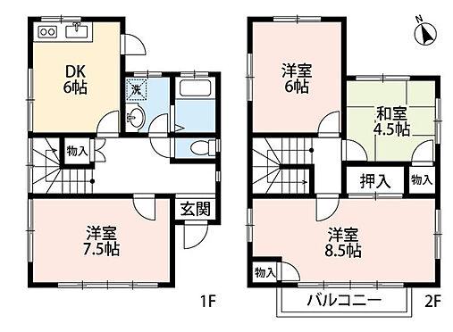 建物全部その他-横浜市港北区師岡町 全室2面採光につき日当たり、通風良好