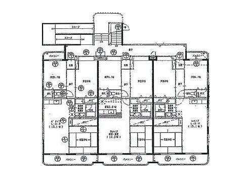 マンション(建物全部)-海老名市大谷北3丁目 間取り