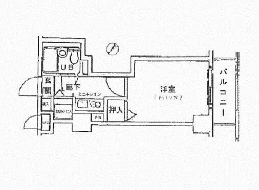 中古マンション-横浜市保土ケ谷区岡沢町 間取り