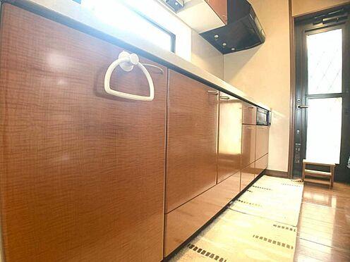 戸建賃貸-岡崎市天白町字吉原 キッチンスペースが広々としているので家事がしやすいです。