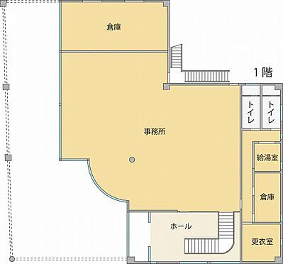 ビル(建物全部)-水戸市堀町 1階間取